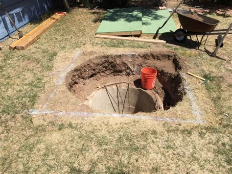 bomb shelter found in backyard man discovers backyard bomb shelter underneath his yard