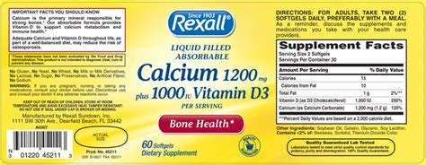 supplement recalls file recalled calcium 1200mg plus 1000 iu vitamin d3