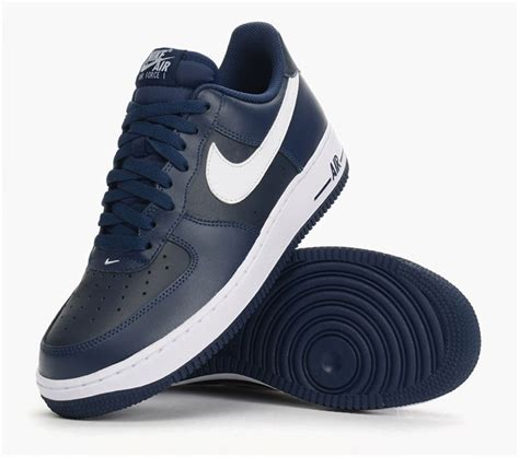 Nike Air 1 Navy by Nike Air 1 Navy Blue Leather Le Du Sgen Cfdt