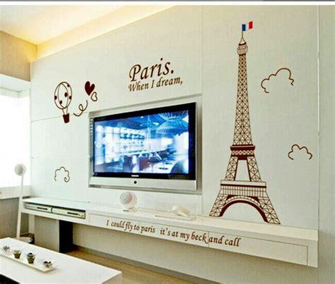 Wallsticker Menara Eiffel In jual beli wallsticker sky menara eiffel balon stiker dinding dekorasi rumah ruang