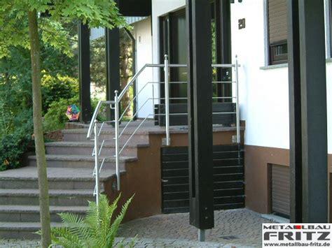treppengeländer edelstahl außen edelstahl treppengel 228 nder au 223 en 01 02 metallbau fritz