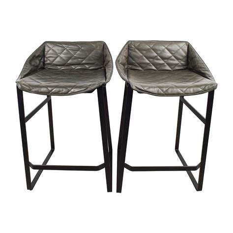 Leather Kitchen Stools by 90 Klaas Klaas Leather Kitchen Stool Set Chairs