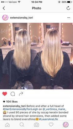 grey hair extensions before and after before and after a full head of she by socap strand by