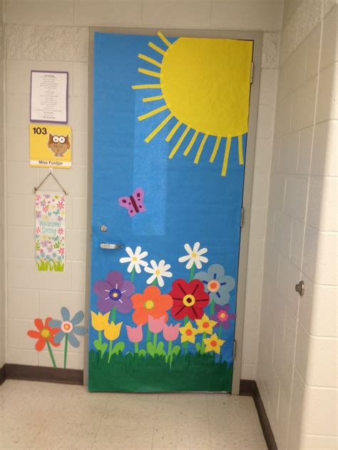 spring door decorations classroom bing images bulletin