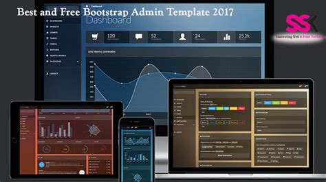 Best And Free Bootstrap Admin Template 2017 Ssk Web Technologies Blog Free Bootstrap Templates 2017