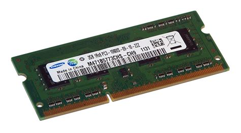 Memory V So Dimm Ddr3 Pc10600 2gb samsung m471b5773chs ch9 2gb ddr3 pc3 10600 1333mhz so dimm 204 pin memory ebay