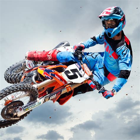racing motocross ricky carmichael fox racing pro mx rider