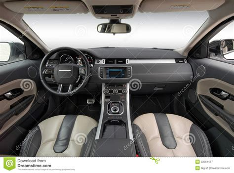 how to shoo car interior at home car interior stock image
