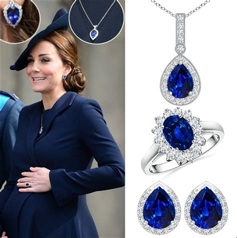 Catherine Set kate middleton new sapphire jewelry sets jpg