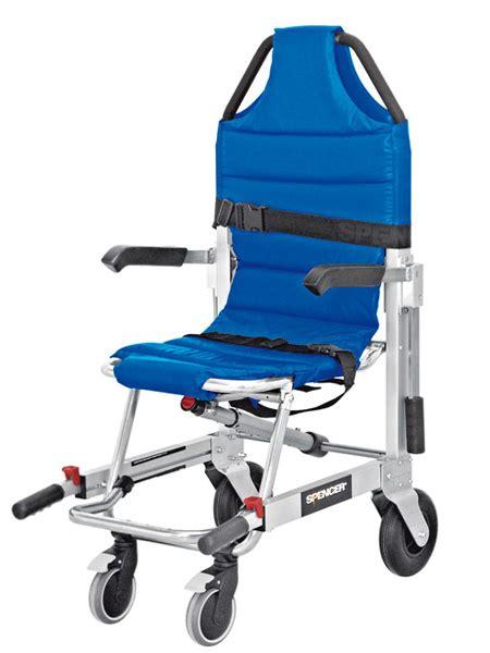sedia scendiscale sedia portantina da evacuazione a 4 ruote spencer 480