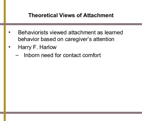 harry harlow contact comfort psychology chapter 3