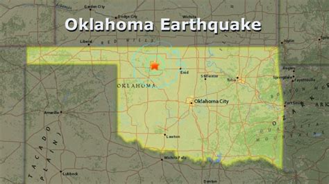 earthquake oklahoma 3 1 magnitude earthquake rocks area northern oklahoma
