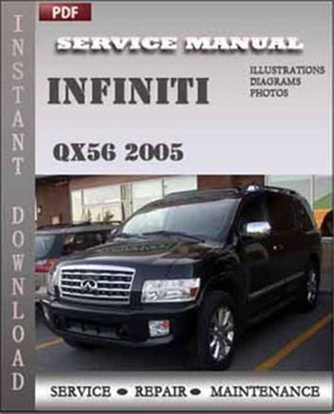 car owners manuals free downloads 2005 infiniti qx instrument cluster infiniti qx56 2005 service manual download servicerepairmanualdownload com