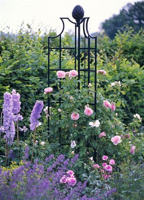 Diy Clematis Trellis Obelisky Pro Pnouc 237 Růže Opory Pro Růže