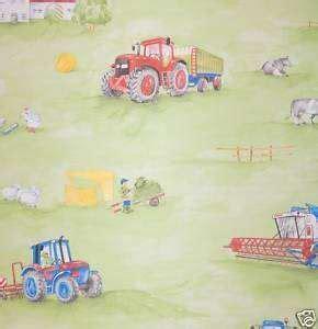 kinderzimmer tapete trecker tapete kinderzimmer rasch club bauernhof traktor
