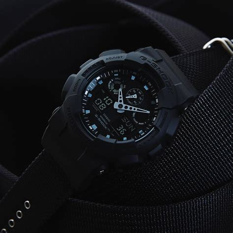 G Shock Series Black g shock ga 100bbn 1a black series