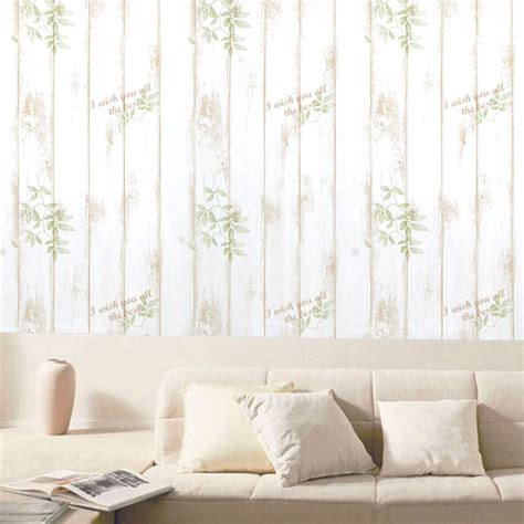 stick on wall paper shabby panel brown contact paper peel stick wallpaper