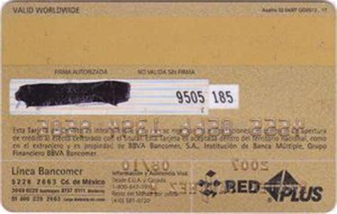 codigo 0081 banco tarjeta de banco vida oro bancomer m 233 xico col me vi 0081