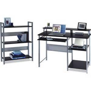 Computer Desk Walmart Mainstays Mainstays Desk With Bookcase Furniture Walmart