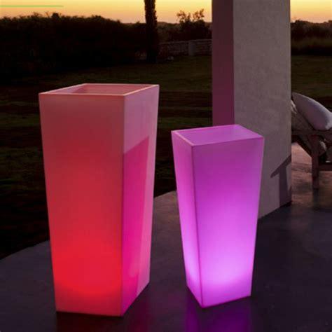 space lighting rumba illuminated outdoor planter
