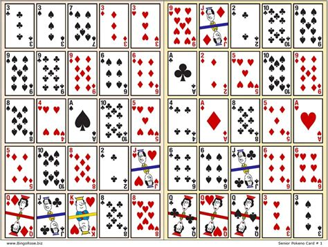 printable playing cards sheets printable game cards deck of cards printable 28843 1050