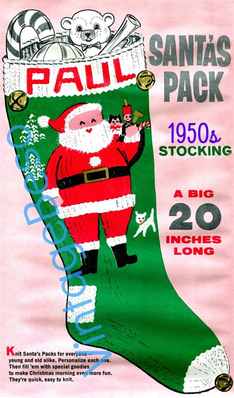 pattern revolution christmas stocking 17 best images about 01 vintage beso on pinterest summer