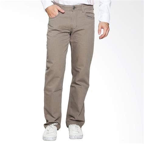 Harga Celana Panjang Merk Emba jual emba casual 1160360105 celana panjang pria khaki