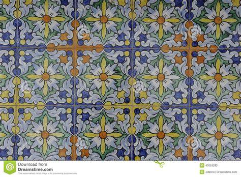 tile pattern rakatan temple glazed tile design stock photo image 40055293