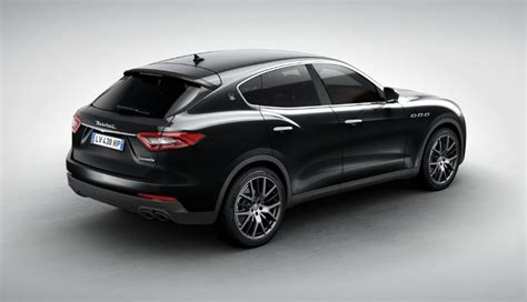 all black maserati 2017 2017 maserati levante black 200 interior and exterior