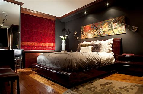 mens home decor how to choose the right bedroom lighting