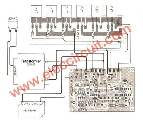 power inverter circuit  sg irfp
