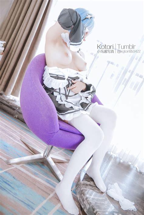 Rem Ero Cosplay By Kotori Perfectly Maid Sankaku Complex