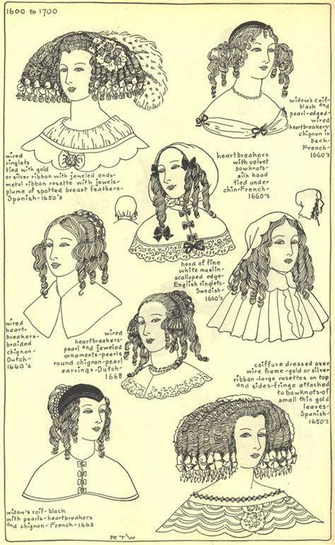 17th century hair styles 17th century hats and hairstyles history pinterest