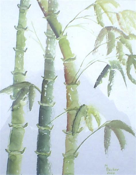 wallpaper daun bambu ilustrasi gratis bambu daun tanaman lukisan gambar