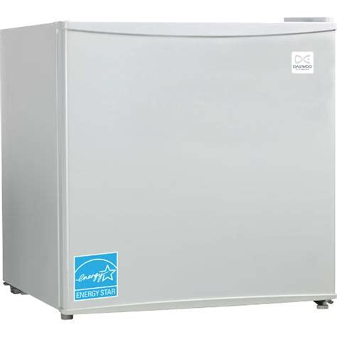 daewoo fr 016rwe 18 6 quot white 1 6 cuft compact refrigerator