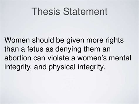thesis statements on abortion abortion thesis statement exles reportz725 web fc2