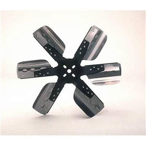 chevy 6 blade fan derale performance heavy duty flex fan