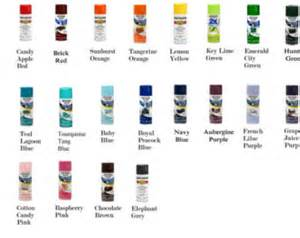 rustoleum spray paint color chart rust oleum spray paint color chart reanimators