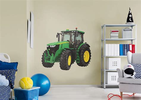 deere stickers for walls deere 7280r tractor wall decal shop fathead 174 for