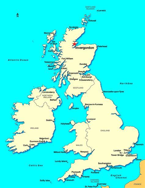 map uk scotland invergordon scotland discount cruises last minute