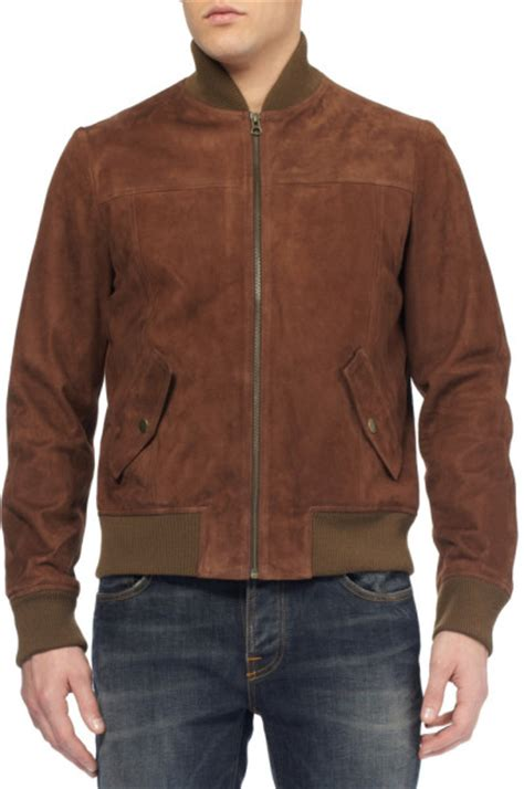 Jaketexpress Boomber Brown Jacket Boomber suede bomber jackets jackets