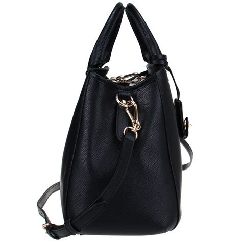 Coach Small Margot Carryall Black spreesuki coach crossgrain leather small margot carryall crossbody shoulder bag black f34607