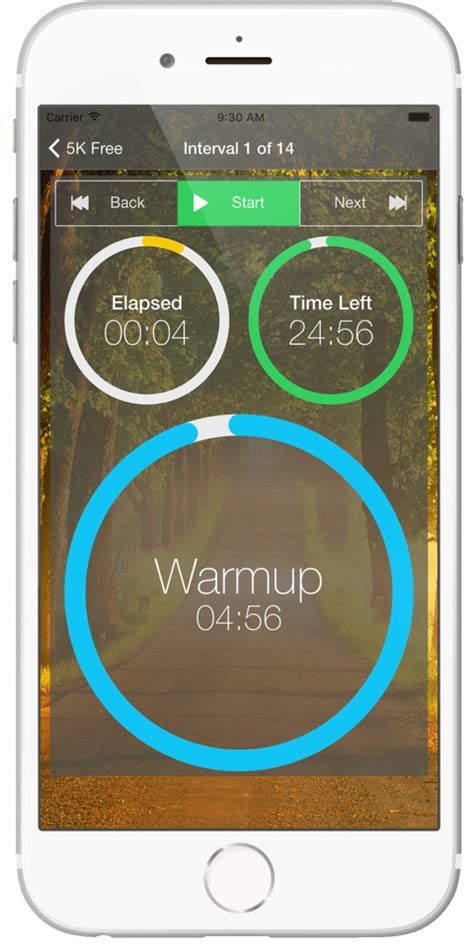 couch to 5k walking app couch to 5k run app