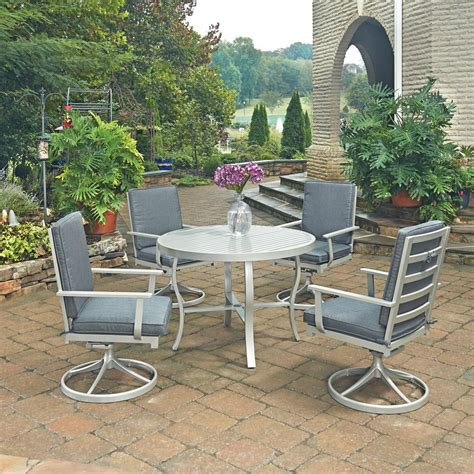 south 5 dining set home styles south grey 5 extruded