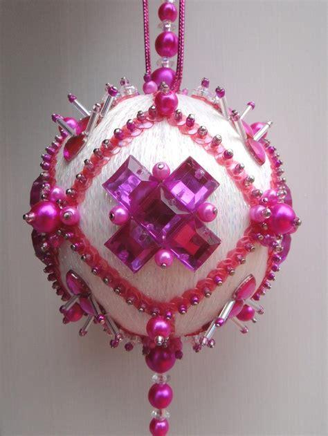485 best bead sequin ornaments images on pinterest