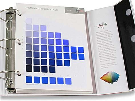 munsell color book munsell book of color matte collection ideedaprodurre
