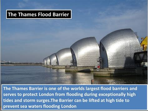 thames flood barrier how to get there coastal management ppt video online download