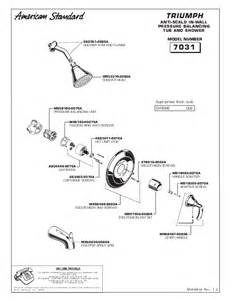 american standard outdoor shower 7031 user s guide