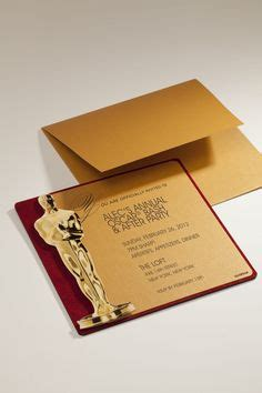 oscar party envelopes and gold glitter on pinterest