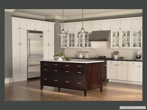 white and espresso kitchen cabinets white kitchen cabinets with espresso island quicua com